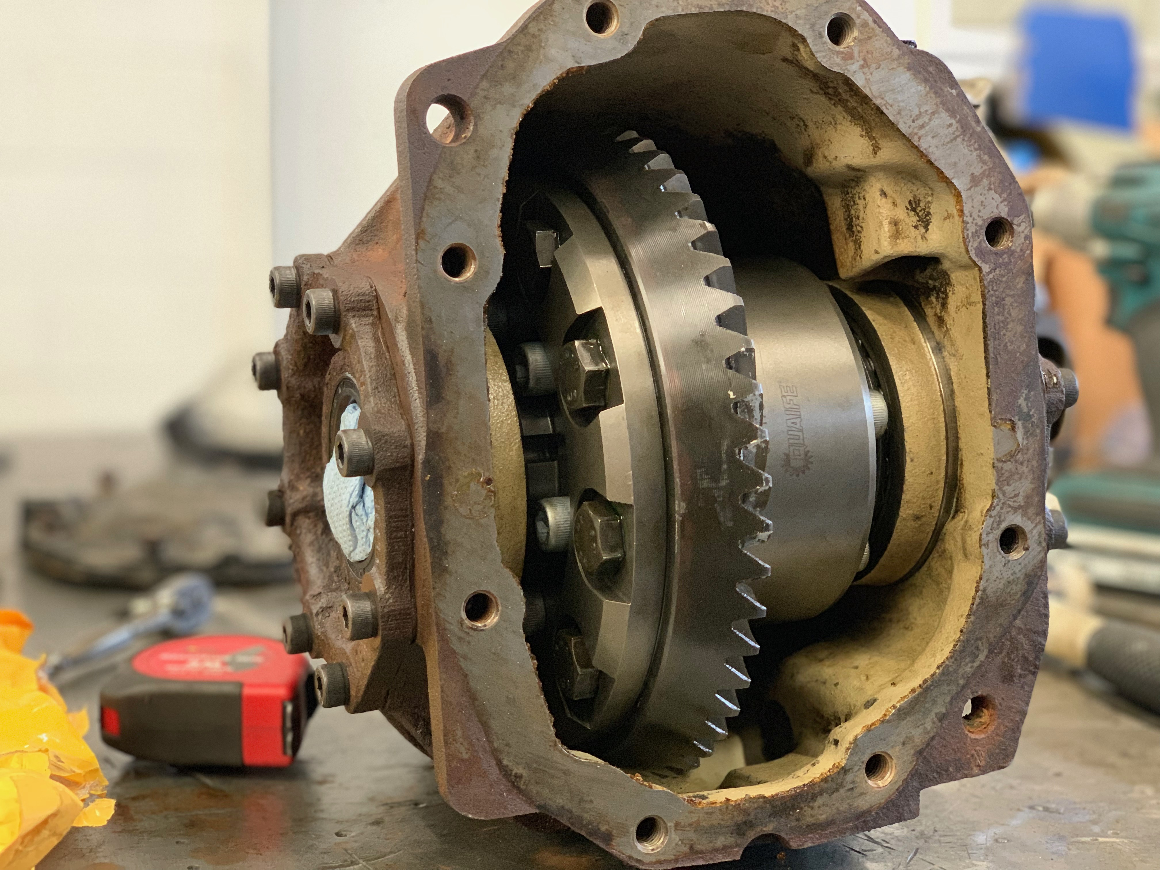 Limited Slip Differential >> Limited Slip Diff Kit For W124
